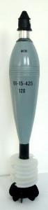 Proiectil-120-MM---Electronic-fuze---6500mm