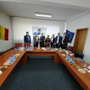 Vizita Excelenței sale d-nul ambasador al Republicii Indonezia Muhammad Amhar Azeth și a d-nei consul Erny Wahyuni