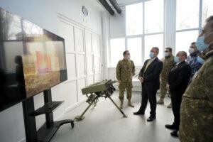 La inaugurarea Centrului de Dezvoltare Tehnologică al Academiei Tehnice Militare ″Ferdinand I″, în prezența domnului Ministru Nicolae-Ionel CIUCĂ